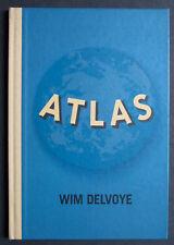 RARE ATLAS WIM DELVOYE TADDEI FRAC BAVEREY 1999 DESSIN COCHON SIGNE SIGNED EO