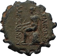 ALEXANDER I BALAS Authentic Ancient 152BC RARE R2 Greek Coin APOLLO i67988
