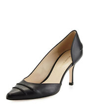 Etienne Aigner Lina Pointed-Toe d'Orsay Pump, Black New