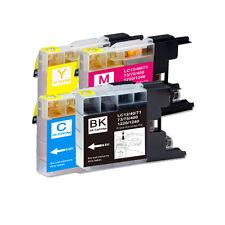 4 PK B C M Y Ink Cartridges fits Brother Series LC75 LC71 MFC J280W J425W J430W