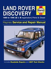 3016 Haynes Land Rover Discovery Petrol & Diesel (1989 - 1998) Workshop Manual