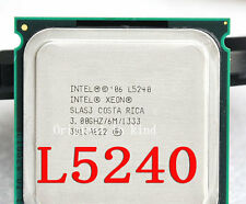 Intel Xeon L5240 / 3.00GHz / 6MB / 1333MHz (SLAS3) 771~775 Server Processor
