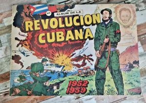 Album de la revolucion cubana 1952-1959 Sammelbilderalbum KOMPLETT 268 Bilder
