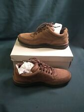 NIB Rockport World Tour Classic Women's 9.5 M Chocolate Nubuck Oxford Walk Shoes
