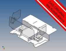 VLFK - Fahrerhausboden für Tamiya Volvo FH12 (M 1:14) + Sitzkonsolen + Scheiben