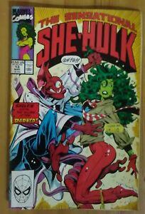 Sensational She-Hulk #13 VF- 1990 Marvel Comics Dale Keown - P&P Discounts