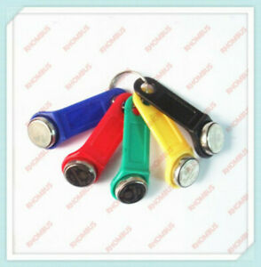 5Pcs 5-Colors DS 1990A-F5 TM Card iButton Tag wall-mounted holder