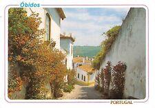 Portugal Obidos Pormenor de uma rua tipica Typical street detail