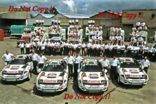 Toyota Celica Turbo 4WD Works Team Portrait Safari Rally 1993 Photograph 1