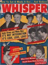 Whisper May 1964 Lena Horne, Lenny Hayton, Eartha Kitt VG 122215DBE