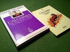 Cherry Gilchrist L'ALCHIMIA storia della pratica + una scienza segreta 2 libri