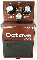 BOSS OC-2 Octave Guitar Effects Pedal 2001 #K312 Free Shipping