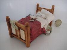 RARE ORIGINAL COLOUR BOX CAT PETER FAGAN HOME SWEET HOME HS210 BEDSTEAD
