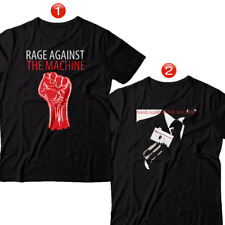 Rage Against The Machine American Rock Band Cotton T-Shirt Brand New