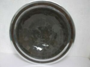 "Julia Knight Mosaic 11"" Bowl Brown/Silver NWD!!!!"