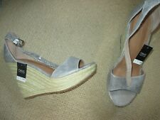 Brand New silver wedge NEXT shoes size 5