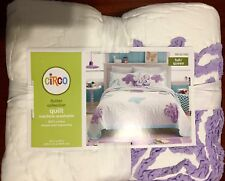 """Circo Flutter Collection Full / Queen Quilt 86"""" X 90"""" New With Tags"""