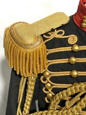 "Genral's Ceremonials Hussar Black/Red OfficerJacket 42""/M & 44""/L,"