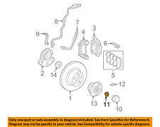 MERCEDES OEM 06-16 E350 Brake-Front-Lock Nut 0009904360