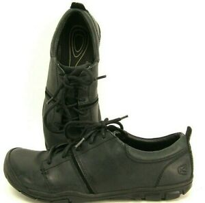 Keen Delancy Lace Up CNX Women's 8.5 Oxford Walking Shoes Black