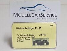 Saller-Modelle 1/87: A8703 Kleinschnittger F 125 Roadster, braun