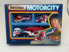 MATCHBOX-MOTORCITY-MC12-AEROBATIC TEAM SET-(RESCUE)---1987---CHECK IT OUT-------