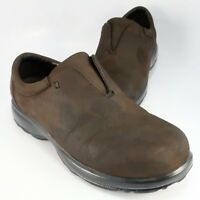 Dunham KENDALL Clogs Womens Size 8D Brown Leather Slip-on Drivers by New Balance