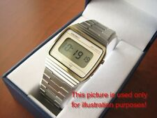 watch bracelet band without clasp! 081 New Nos Vintage Seiko Z-454 Lcd Digital