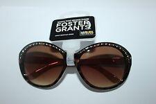 Foster Grant Sunglasses Max Block Impact Resistant Lenses NS1113 Diamante