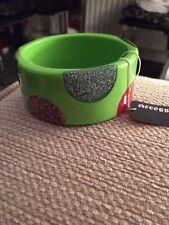 Accessories Patterned Green Bracelet