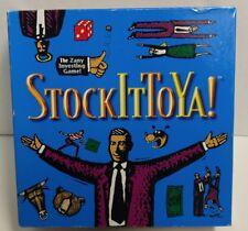 Stock It To Ya! (2002) Zany Investing Board Game