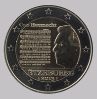 Luxembourg 2013 - 2 Euro Commemorative - Luxembourg National Anthem (UNC)