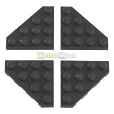 4x LEGO® 30503 4x4 Eck-Platte Flügel neu-dunkelgrau NEU dark bluish gray