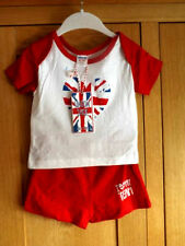 Graphic 100% Cotton Outfits & Sets (0-24 Months) for Girls