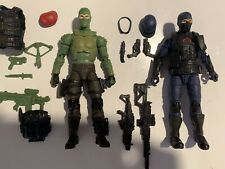 Gi Joe Classified Cobra Trooper And Beach Head (Vest Removed And Included )