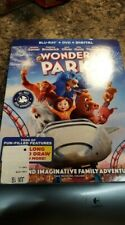 Wonder Park New Blu-ray With Dvd, 2 Pack includes digital