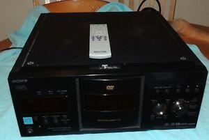 Sony DVP-CX995V DVD/CD/SACD Disc Explorer 400 Player Remote Bundle Super Audio