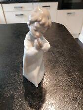 NAO LLADRO DAISA 1996 PORCELAIN FIGURE OF PRAYING BOY 1262