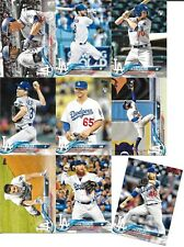 LA Dodgers 2018 Topps Series 2 Team set of 15 cards (Seager, LaCastro RC +)