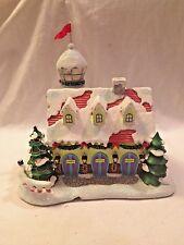 Hawthorne Village Rudolph's Christmas Town ~ Reindeer Barn & Watch Tower CoA MIB