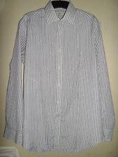 Next repassage facile bleu chemise rayée taille 15R (38 CM)