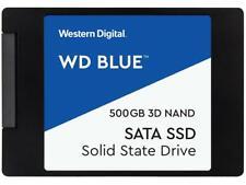 """NEW WD Blue 3D NAND 500GB Internal Sata III 2.5"""" SSD WDS500G2B0A"""