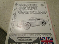 Vtg Sports Car Spares Austin Healey Parts List  Catalog Ed 9 1953 - 1968