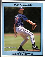 Tom Glavine  ATLANTA BRAVES  UNSIGNED  8-5/8 x 10-7/8  COLOR MAGAZINE PHOTO #2