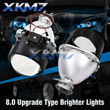 2.5'' Upgraded 8.0 HID Bi-xenon Projector Lens For H1 H4 H7 Headlight Retrofit