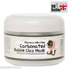 Elizavecca-carbonatadas Burbuja arcilla mascarilla lechoso Piggy puntos negros 100g Reino Unido