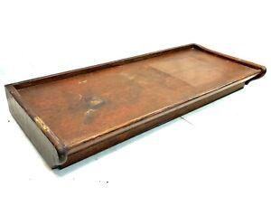 Antique GUNN Barrister Bookcase Q-sawn Oak TOP Original Surface