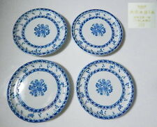 Arabia Finland FINN FLOWER - Blue Coasters, Set of 4