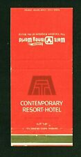 1971-72 Walt Disney World Contemporary Resort Hotel Matchbook Florida Flag