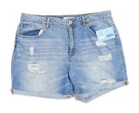 Womens Forever 21 Blue Denim Shorts Size W34/L5